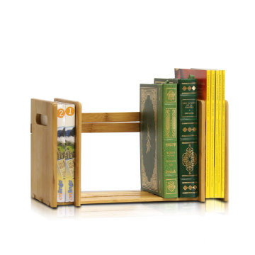 Bamboo Extension Book Rack, Natural